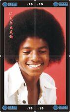 Michael Jackson 4 telefoonkaarten/télécartes  (MJ61-77 4p)