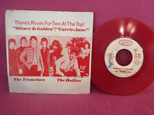 Tremeloes/Hollies, Silence Is Golden/ Carrie-Anne, Epic 5-10180, 1967, RED vinyl