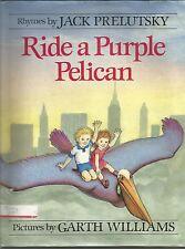 Ride a Purple Pelican by Jack Prelutsky (1986, Hardcover)