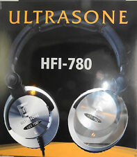 Ultrasone HFI 780 Headband Headphones - Silver/Black ~ MINT ~ rp