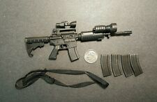 "1:6 Art Figures LAPD SWAT M4 Rifle Lot 12"" GI Joe DiD DAM Hot Toys Police Dragon"