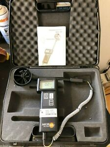 Testo 440 Vane Anemometer (R5)