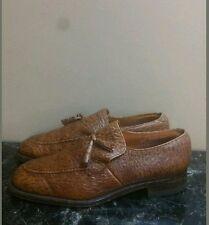 VTG UK Made Loake British Isles Collection Sharkskin Tassel Loafers  Size 8.5