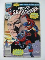 MARVEL COMICS WEB OF SPIDER-MAN VOL 1 Nº89 JUNIO 1992-EN INGLES
