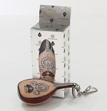 """10 PCs Oud Key Chain Miniature 3.14"""" , Replica of Farid El Atrash Oud"""