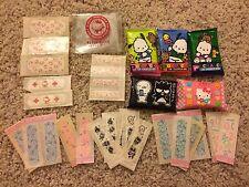 Sanrio Tissue & Bandaids Pochacco, Hello Kitty, Badtz Maru Vintage 90's kawaii