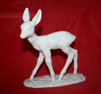 Porzellanfigur zierliches Reh, Rehkitz, Schaubachkunst, Figur Porzellan, Bambi