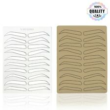 Eyebrow Shaping Stencil | Reusable Eyebrow Template Microblading Practice Skin
