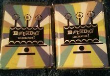 Hallmark Birthday Celebration Invitations 2 -10 Packs W Envelopes 20 Cards Total