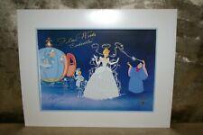 Disney's  Cinderella Signed Autographed Ilene Woods