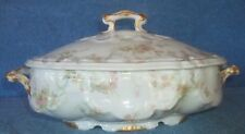 """Haviland SCHLEIGER 57B  11 1/2"""" Oval Covered Vegetable Bowl  PERFECT CONDITION"""