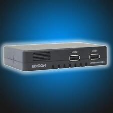 Edision Progressiv c compact nano FullHD DVB-S2 Sat-Receiver HDTV Edison schwarz