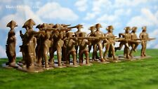 Armies in Plastic Revolutionary War 1775-1783 American Militia 1/32 Scale 54mm