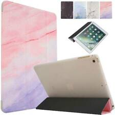 """For iPad 5th 6th 7th Gen 10.2"""" Mini Air Pro 10.5"""" Smart Marble Stand Case Cover"""