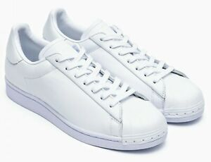 Adidas Superstar Pure LT Classic White Leather Sneaker FV3352 Womens 9.5 New