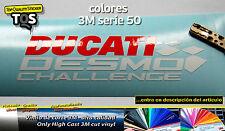 Ducati Desmo pegatina sticker decal adesivi aufkleber autocollant 3M 50 S