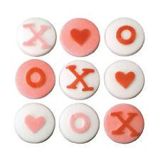 XOXO ASSORTMENT SUGAR DECORATIONS FOR CUPCAKES