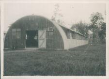 Photo 1947  Singapore  RAF Sembawang Base Nissen Hut Barracks