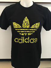 ADIDAS EMOJIFOIL BLACK GRAPHIC TEE T SHIRT MENS SIZE SMALL NWT