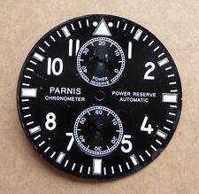 Parnis Cronometro Orologio Quadrante, riserva di alimentazione automatico, 38.5 mm. buone condizioni.