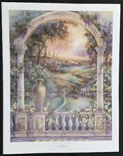 "Lena Liu Limited Edition Print ""Garden Of Paradise-Royal Pehan"""
