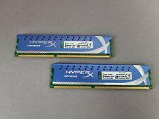 2x 4GB Kingston Hyper X KHX1600C9D3K2/8GX 8GB DDR3 1600MHz PC3-12800U RAM