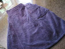 NWT- Mens MAJESTIC Navy Blue Terry Cotton Shower Wrap (OSFA)