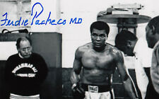 Dr F.Pacheco SIGNED was Muhammad Ali Cornerman Doctor PHOTO SIGNED AUTOGRAPHED