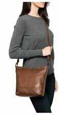 FRYE Melissa Cognac Brown Leather Small Hobo - BEAUTIFUL!   NWT