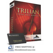 Spectrasonics Trilian Bass Virtual Instrument Software BRAND NEW factory sealed