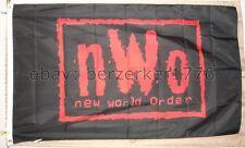 NWO New World Order Wolfpac Wrestling 3'x5' flag banner - WCW, WWF, WWE USA Sell