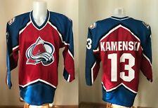 Colorado Avalanche #13 Kamenski Size XL CCM Ice Hockey NHL jersey shirt maillot