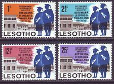 Lesotho 1967 SC 37-40 MH Set University
