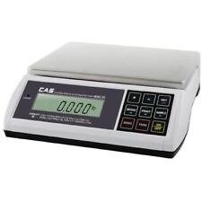 Cas Ed-60 Digital Bench & Counter Scale, 0~30 x 0.01 lbs/30~60 x 0.02 lbs, Ntep