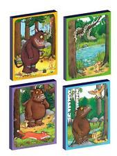 4 x THE GRUFFALO set b CANVAS ART BLOCKS/ WALL ART PLAQUES/PICTURES