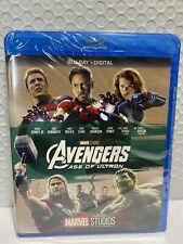 Avengers: Age of Ultron (Blu-ray Disc, Digital, 2017) NEW
