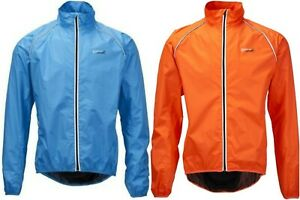 Ridge Unisex CYCLING Jacket Fluro Blue or Orange - Size: XXL