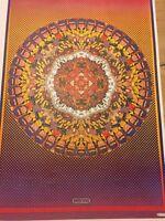 Rare Vintage Peter Max Psychedelic Art Captain Midnight Poster Comics Book Art