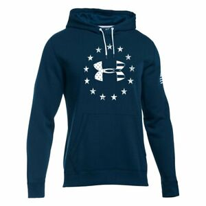 Under Armour BFL Freedom Rival Hoodie - 1292732 - Blackout Navy