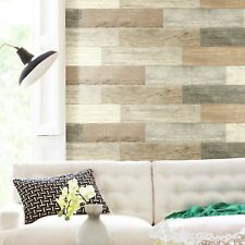 DISTRESSED BARN WOOD like PLANKS Peel & Stick Giant Decals 16 Wall Stickers