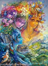 Buffalo Games Puzzles The Three Graces Josephine Wall Jigsaw Puzzles Glitter New