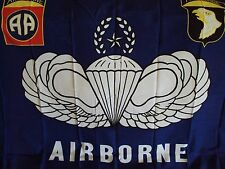 New listing 3' x 5' Foot U.S. Military Flag Airborne Banner Super Polyester