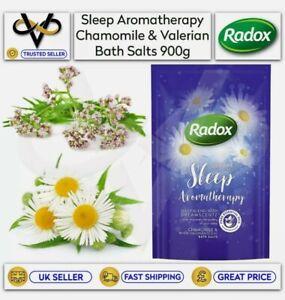 Radox Bath Salts Sleep Aromatherapy 900g Chamomile & White Valerian Scent
