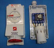 Mennekes CEE-Schaltersteckdose 5p 32A 400V (50+60Hz) rot 6h IP44... 5108A