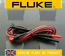 Fluke TL224 Suregrip Silicone Insulated Test Lead Set for Digital Multimeters