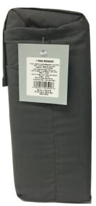 Made By Design Solid Bed Skirt, California King, Dark Gray