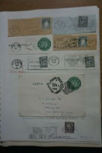 Ireland - 1960s Issues: On- Piece Postmarks