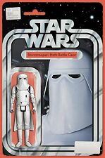 Star Wars # 21 Action Figure Cover NM Marvel