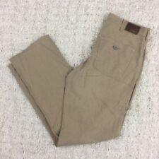 EUC Armani Jeans Pants Men Linen Cotton Beige Size 34 Comfort Fit