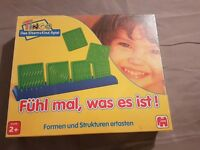 Fühl mal was es ist Brettspiel Spiel - Board Game Neu New Jumbo 1995 Tastspiel